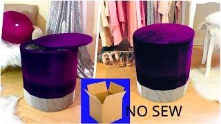 ✅DIY Storage Coffee Table .Cardboard Furniture ,Easy And Fast No Sew