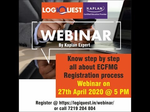 ECFMG step by step Registration Process - YouTube