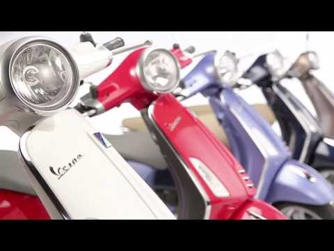 Vespa Primavera Motorcycle Video