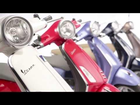 Vespa Primavera Motorcycle Video