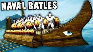 NEW Epic Navy Ships!  Formata NAVAL BATTLES Update! (Formata Ships Gameplay Ep 1)