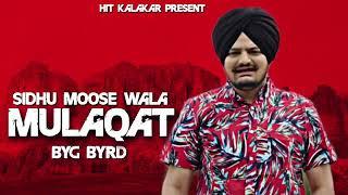 Mulaqat Full Song    Sidhu Moose Wala    Sinnga    Byg Byrd    Latest Punjabi Song 2018
