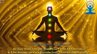 Good Evening India - Yoga Day Special - Download this Video in MP3, M4A, WEBM, MP4, 3GP