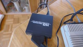 #417 Special: Speaka Professional HD Scart to Hdmi Converter, Unboxing und Funktionstest