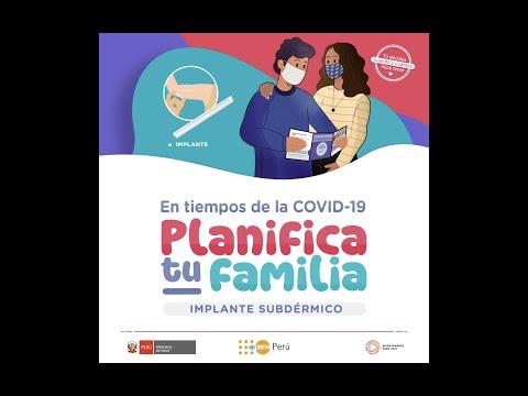Planificación familiar en tiempos de la COVID19: Implante Subdérmico