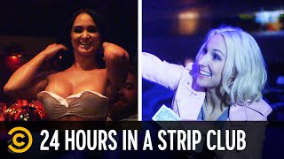 Surviving 24 Hours in a Strip Club - Not Safe with Nikki Glaser