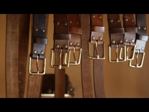 Seeing A Leather Belt Get Hand Made Is So Satisfying
