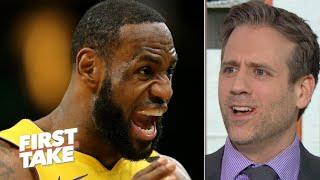 LeBron seems to have forgotten his formula for success – Max Kellerman | First Take