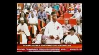 #MinisterialScreening: Drama in Senate as Former Rivers gov, Rotimi Amaechi took