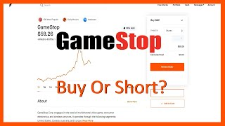 Buy Or Short GAMESTOP Stock? (Explanation + Analysis) - Robinhood Investing
