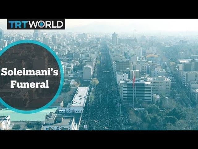 Soleimani Assassination: Thousands of mourners attend funeral procession