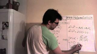 Analytická geometrie - skalární součin vektorů - jak na to