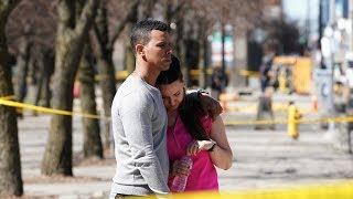 Toronto van attack occurred in bustling business district