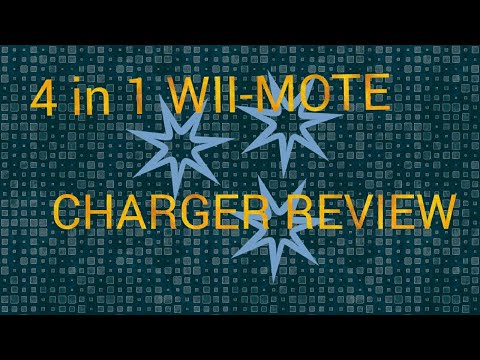 4 PORT WII-MOTE CHARGING STATION REVIEW
