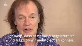 ACDC   Interview Angus & Cliff Hamburg 25 05 2016