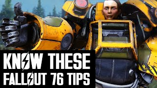 Fallout 76 - Things To Know Before You Start Playing