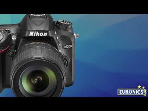 NIKOND7200 + Nikkor 18-140VR + SD 8GB LexarPremium 200xBlack