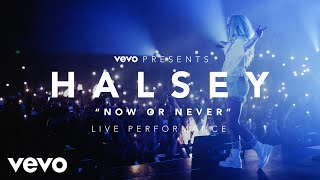 Gambar cover Halsey - Now or Never (Vevo Presents)