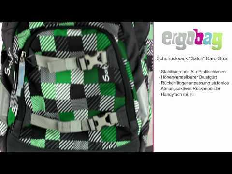 """Der Produktspot zum  Schulrucksack """"Satch"""" von ergobag - Schulranzen.net"""