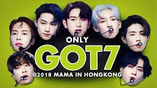 GOT7 at 2018 MAMA in HONG KONG | All Moments