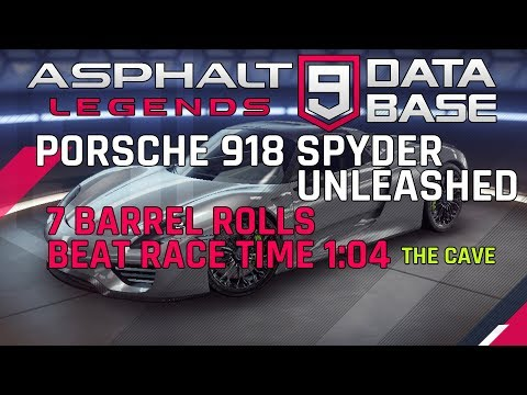 Porsche 918 Spyder Unleashed - 7 Barrel Rolls & Beat 1: 04