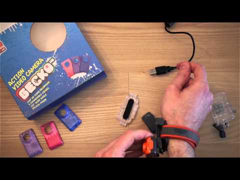 Action Camera per bambini e ragazzi: Gecko HD Oregon Scientific