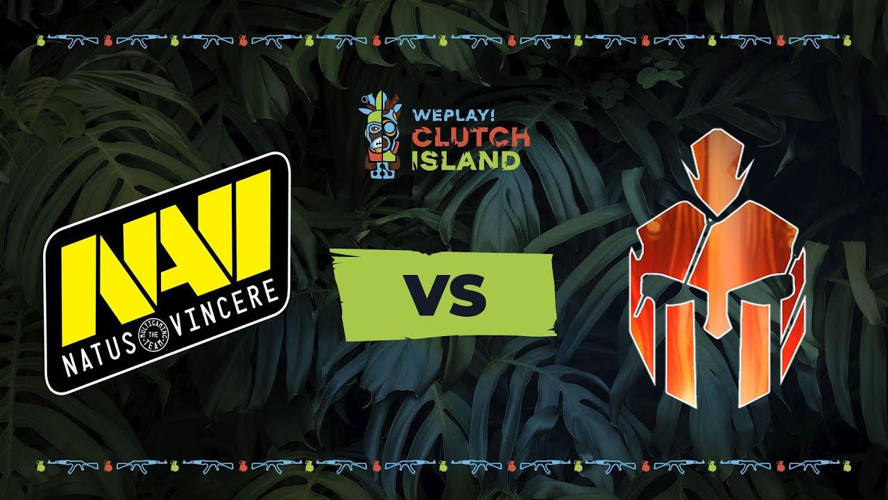 Natus Vincere vs Hard Legion Esports - WePlay! Clutch Island                                                                     #1 - CS:GO