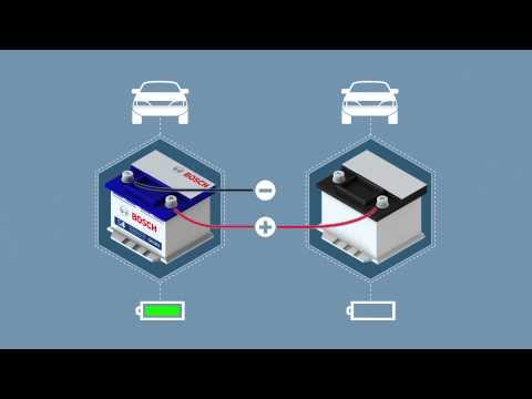 comment demarrer batterie avec cables