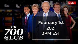 The 700 Club - February 1, 2021
