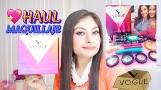 UNBOXING:MAQUILLAJE VOGUE #SOYVOGUERA|MI LADO BEAUTY