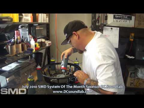 """How to build a 15"""" Woofer - A Road Trip to DC Soundlab 2 - I built it YOU win it!"""