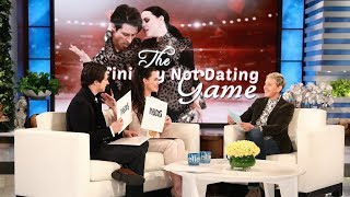 "Canadian ice dancers Tessa Virtue and Scott Moir have to constantly fend off rumors they've taken their relationship off the ice, so Ellen played ""The Definitely Not Dating Game"" with these two friends."