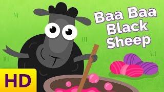 Baa Baa Black Sheep Song - Children's Song with Lyrics - Nursery Rhymes | Kids Academy