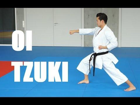 OI ZUKI - karate forward punch - TEAM KI