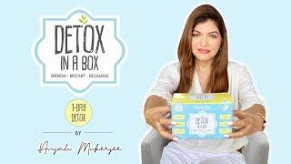 DETOX IN A BOX | 1 Day Detox | Anjali Mukerjee