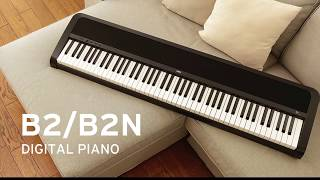 Korg Piano B2N BK - Video