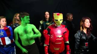 """""""Get Loki"""" by The Avengers (Parody of 'Get Lucky' by Daft Punk)"""