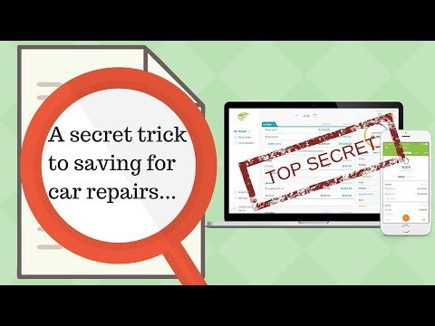 EveryDollar Tutorial: How to Save For Car Repairs (without even realizing it)