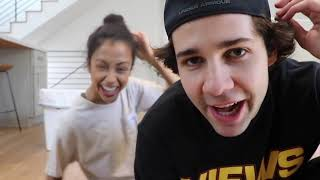David Dobrik's Vlog if he was actually the main character.