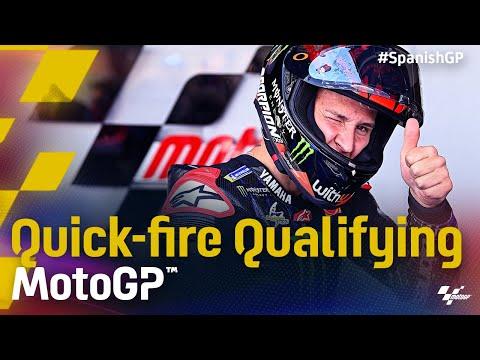 中上貴晶は5番手 MotoGP 2021 第4戦スペインGP 予選のハイライト動画