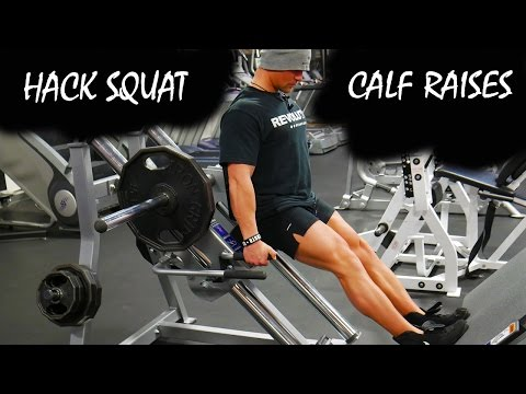 Hack Calf Raise