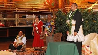 preview picture of video 'Tongan Prince Ata attends Liahona alumni reunion ball at PCC'