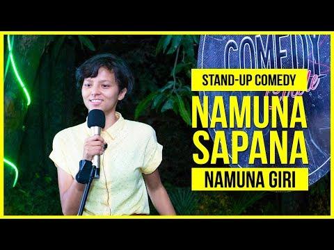 Namuna Sapana   Stand-up Comedy ft. Namuna Giri