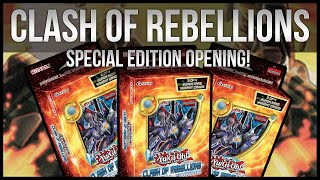 Yu-Gi-Oh Clash of Rebellions 3x Special Edition Opening!