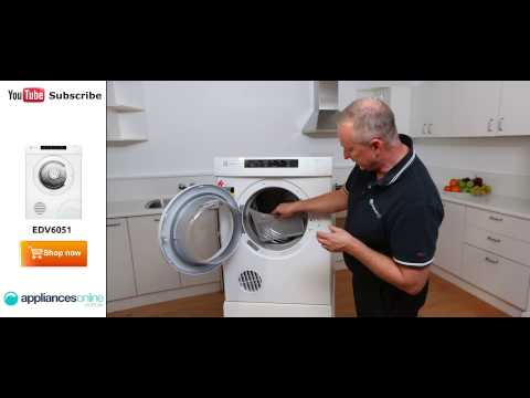 EDV6051 6kg Electrolux Dryer reviewed by expert - Appliances Online