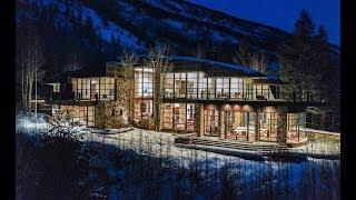 Aspen Colorado's Luxury Glass House - DroneHub