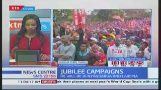 President Uhuru leads Jubilee campaigns in Nakuru