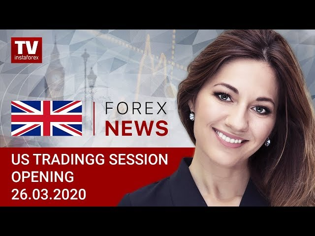 26.03.2020: USDX to dip below 100 briefly (USDХ, DJIA, USD/CAD)
