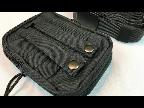 Tactical MOLLE EDC Pouch Case and Nylon Utility Belt by KingMoore – giveaway Oct 15, 2016