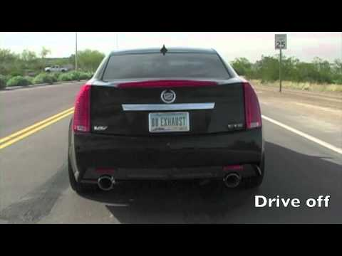 Cadillac CTS-V Drive Off – Billy Boat Exhaust